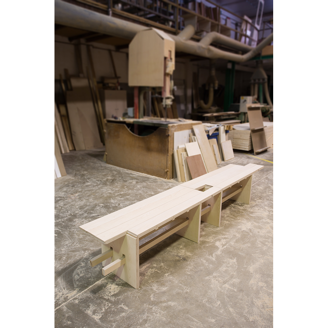 Milano bench francesc gasch industrial design for Industrial designer milano