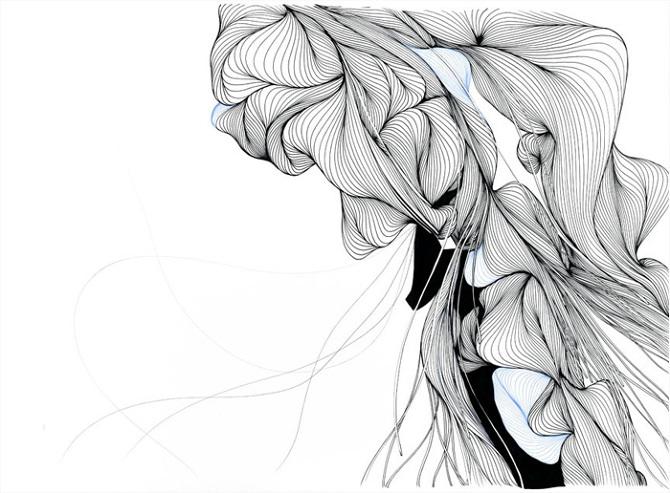 Line Art Design Inspiration : Line drawings nativeline